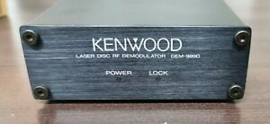 KENWOOD DEM-999D AC3  LASER DISC RF DEMODULATOR NEW
