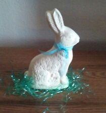 Ceramic Food Like  Chocolate Easter Bunny  white chocolate