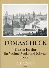 Tomascheck - Trio in Es-dur für Violine, Viola und Klavier op. 7