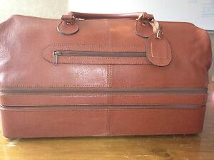 Luciano Barbera Italian Leather Bag 2 Compartments GOLF $2200