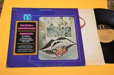 STOCKHAUSEN LP MOMENTE ORIG USA ANNI '70 AVANT GARDE CONTEMPORARY ELECTRONIK
