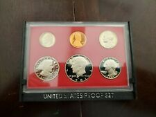 MINT SETS 1980 U.S LOT OF 5 IN SEALED ORIGINAL GOVERNMENT BOX