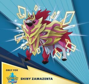 Pokemon Serial Code Shiny Zamazenta Sword Only [Instant-12 hours Delivery]