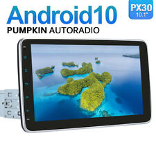 Pumpkin 10.1 Zoll Android 10.0 Autoradio 1 DIN GPS NAVI DAB+ Bluetooth USB WiFi