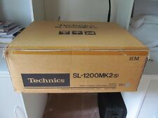 Technics SL1200MK2  Turntable BRAND NEW IN FACTORY SEALED BOX