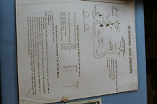 Vintage Surfing 1962 International Surfing Championships Contest Info Sheet 8x11