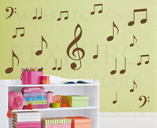 Music Note Large Wall Decal Vinyl Sticker Art Decoration Decor Graphic Mural G29