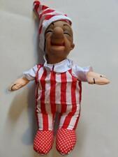 "Vintage Mr. Magoo 13"" Plush Doll In Sleep Shirt & Cap Soft Body w/ Rubber Head !"