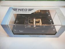 Neo Scale Models Lincoln Premiere Convertible 1956 in Black on 1:43 in Box