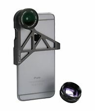 ExoLens Wide Angle and Telephoto Lens for iPhone 6, Aluminum 9472201