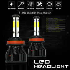 Kit Bulbs H8 LED Fog Light Canbus Bright 80W 6000K White KIA Soul MK2 2014-on