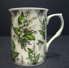 Lily Of The Valley Castle shape Fine Bone China Chintz Mug Cup beaker