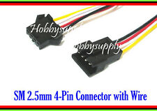 JST SM 2.5 SM 2.5mm Pitch 4Pin Connector Male Female 26AWG for 5050 3528 x 3 SET