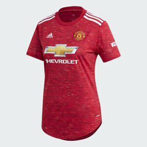 Adidas Women's Manchester United 2020/21 Home Jersey (XL) FM4279