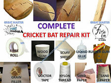 FIRST TIME IN INDIA AMAZING COMPLETE CRICKET BAT REPAIR KIT  BY GREAT MASTER
