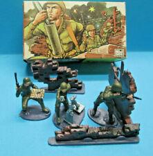 BRITAINS LTD MINI SET 1072 1/42 WWII US ARMY MORTAR TEAM TOY SOLDIERS SET VNMIB