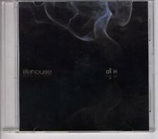 LIFEHOUSE All In DUTCH PROMO CD SINGLE