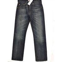 LEVI STRASS 501 STRAIGHT LEG BUTTON-FLY JEANS  BLAU W31 L32 Herren ORIGINAL