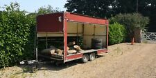 Twin Axle - Box Trailer - Used for Go-Karts or Motocross - Catering trailer.