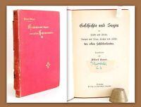Geyer Geschichte und Sagen des alten Schlesierlandes um 1880 Schlesien xy