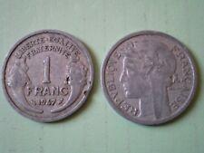 PIECE DE 1 FRANC 1947  MORLON en  ALUMINIUM