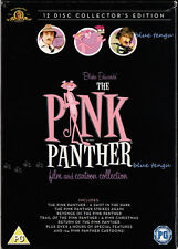 THE PINK PANTHER Peter Sellers Blake Edwards Complete Film & Cartoon Coll on DVD