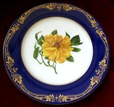 Aynsley Bone China Floral Rose Cabinet Plate