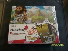 Maple Story Card Game Npc Heroes Series 4 Booster Box 24 Pk. Maplestory  tcg ccg