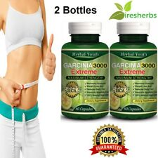 3000mg Daily GARCINIA CAMBOGIA 95%HCA 120 Capsule Fat Burn Slim Diet Weight Loss
