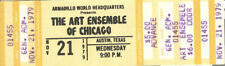 The Art Ensemble Of Chicago Concert Ticket 1979