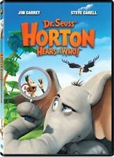 Dr. Seuss' Horton Hears a Who! (DVD, 2009) Jim Carrey Steve Carell NEW