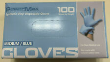 100pcs  Synthetic Vinyl Disposable Gloves Powder free size M