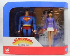 DC Collectibles SUPERMAN / LOIS LANE Animated Series Action Figure 2 Pack TAS