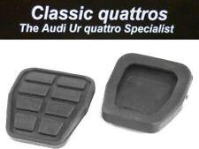 NEW BRAKE/CLUTCH PEDAL RUBBERS, AUDI UR QUATTRO TURBO COUPE/QUATTRO COUPE/80/90