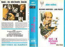 NAPOLI…I 5 DELLA SQUADRA SPECIALE (1978) VHS STAR VIDEO (REGIA DI MARIO BIANCHI)