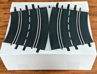Carrera NEW 2/30 Bank Curves 2 FULL sets-1/32 Slot Car Track-FREE Shipping.