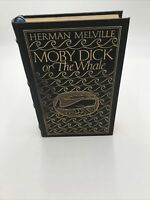 Moby Dick Herman Melville Easton Press 100 Greatest Books Leather Bound 1977