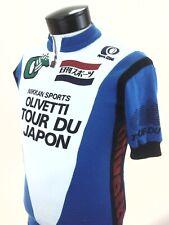 Pearl Izumi Vintage Cycling Shirt 1/4 Zip Olivetti Tour Japan Made Mens S Small