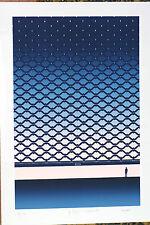 Lithographie originale Michel Granger tirage 27 sur 150 Vintage 1990