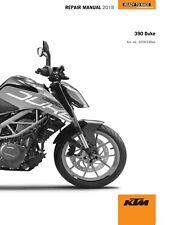 KTM Service Workshop Shop Repair Manual Book 2018 390 Duke