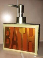 Seifenspender Duschgelspender Spender Bad Dusche WC (L12cm x H15,5cm x T4,5cm)