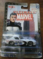 Maisto Ultimate Marvel die-cast collection Punisher Dodge Viper GTS 051119LLECAR