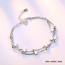 Hot New Modern Silver Plated Snake Bracelet Chain Fit Women New Beads & Charms