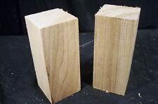 "2 Pc Butternut Carving lathe Turning Blanks 2 1/2  x  2 1/2  x  5 1/2"""