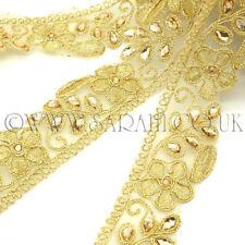 Gold Rhinestone Fabric Trim Rhinestone trimming,Embellishment,co stume,pageant