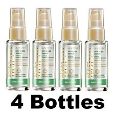 4 X Avon Advance Techniques Daily Shine Dry Ends Serum (4 x 30ml)