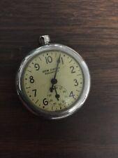 Pocket Watch Vintage New Haven Pedometer