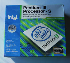 Intel Pentium III-S Processor 1.26GHz for server applications