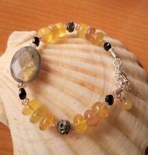Handmade Citrine Not Enhanced Fine Bracelets