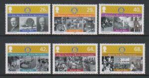 Isle of Man - 2005, Rotary International set - MNH - SG 1231/6